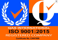 ISO 9001:2015 (Certificate No: CAN1906)
